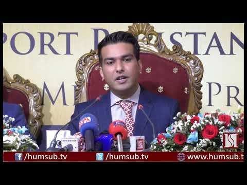 A Press Conference By CEO of World Trade Centre Pakistan HumSub TV
