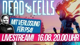 Dead Cells LIVE Gameplay + VERLOSUNG: 1x das Game für PS4