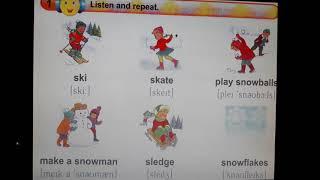 Урок англійської мови для 4 класу загальноосвітньої школи за підручником Карп'юк О.Д. Тема: