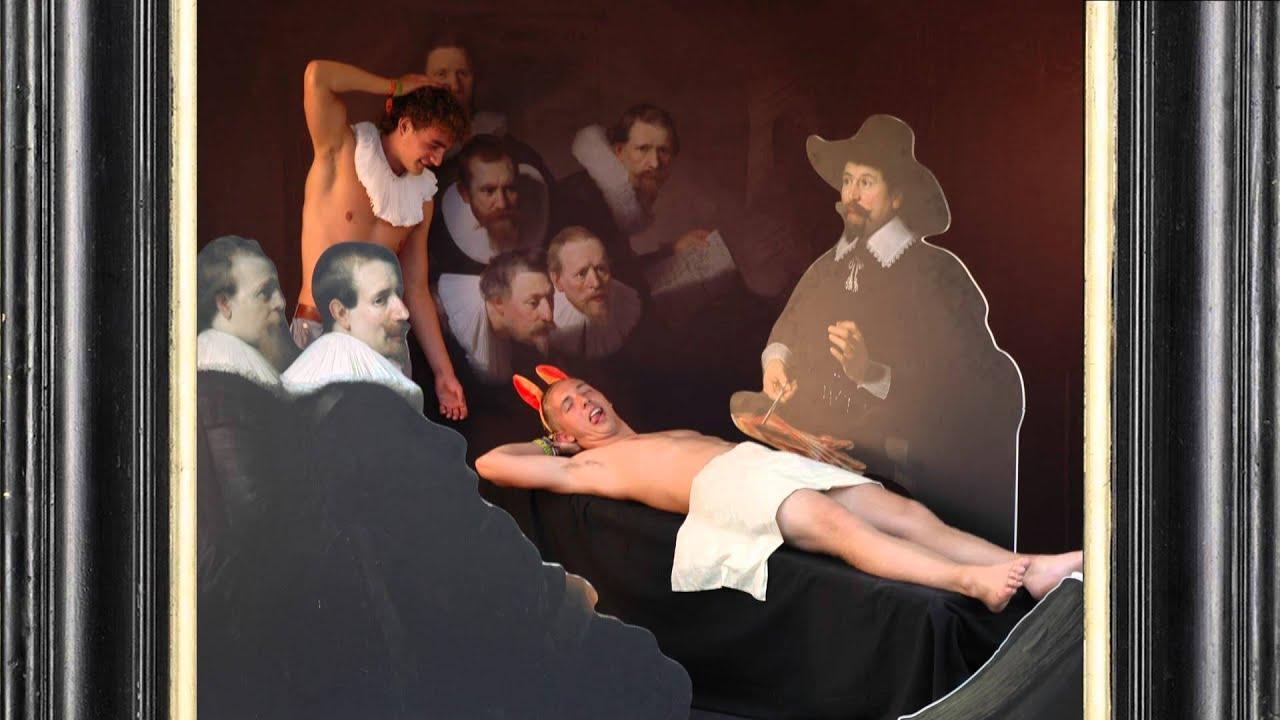 THE DROPSTUFF PHOTOBOOTH - De anatomische les van dr Nicolaes Tulp ...