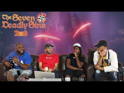 The Seven Deadly Sins 2x6 REACTION/REVIEW