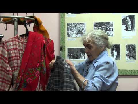 платье пожилой женщины