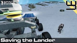 Planets Survival Guide #4: Recharging & Saving the Lander (Space Engineers)