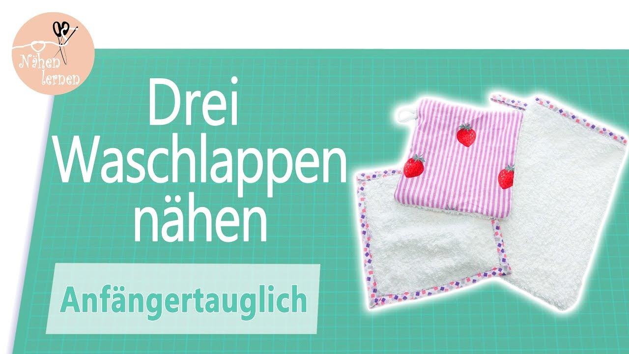Baby Erstausstattung Baby Waschlappen  3 Frottee Waschlappen mit Schwamm