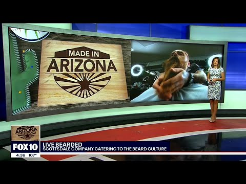 Live Bearded On FOX 10 News - Highlighting The Best All Natural Beard Care Products Made in America