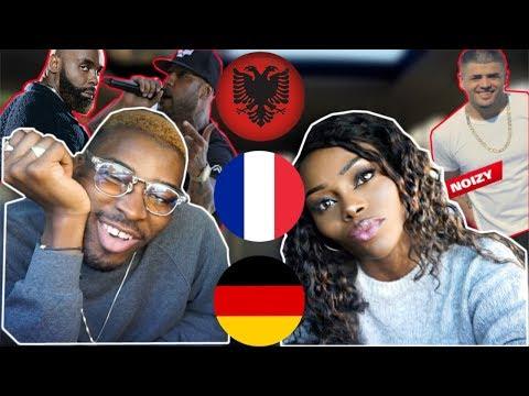 REACTION| ALBANIA vs FRANCE vs GERMANY Rap/Hip Hop/RnB