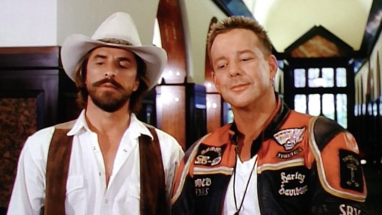 Download Harley Davidson and the Marlboro Man - Behind the scenes - Mickey Rourke and Don Johnson