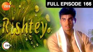 Rishtey - Hindi Serial - Episode 166 - Zee Tv - Full Episode