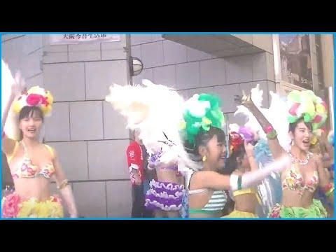 神戸サンバチーム 2019 天神橋の秋祭り Ⅲ