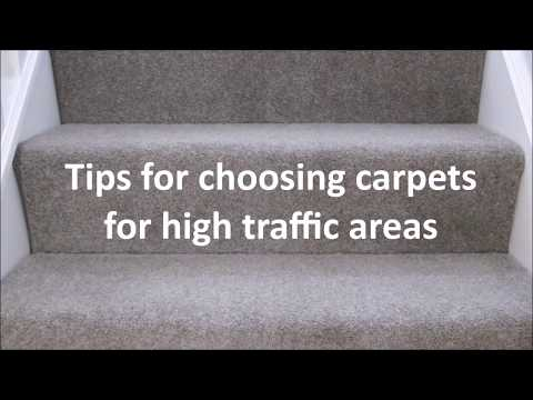 How to choose a carpet for high traffic areas like halls, stairs & landings