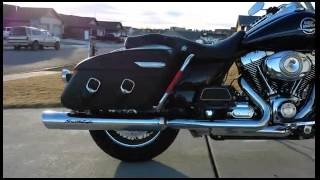 Harley Davidson Road King stage 1 Street Cannons