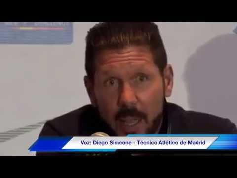 Simeone deja abierta opción para que llegue el Chicharito al Atlético de Madrid