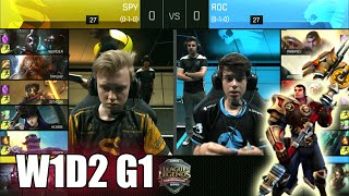 Video Splyce vs ROCCAT | Game 1 S6 EU LCS Summer 2016 Week 1 Day 2 | SPY vs ROC G1 W1D2 1080p download MP3, 3GP, MP4, WEBM, AVI, FLV Agustus 2018