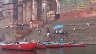 Repeat youtube video Holy sensation on the bank of river Varanasi Ganges