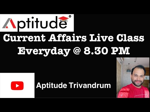 Current Affairs Live Class (29.05.2020)