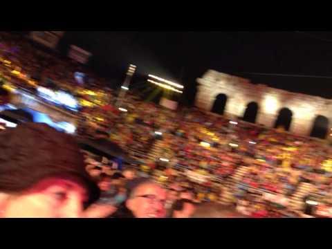 Gianni Morandi e Fiorello live in arena 7 ottobre 2013