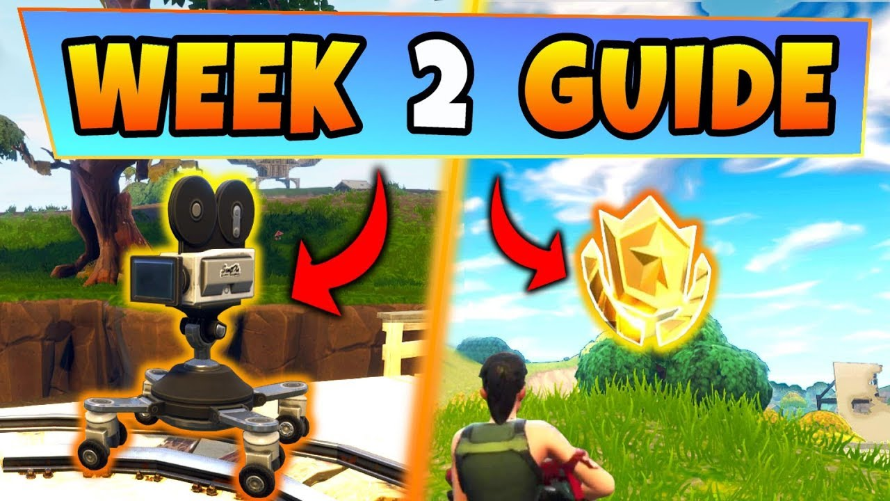 Fortnite Week 4 Hot Spot Challenge Guide | Season 10 ...
