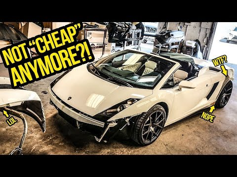 Here's How Much It Costs To Fix My Cheap Lamborghini's HORRIBLE Paint Job