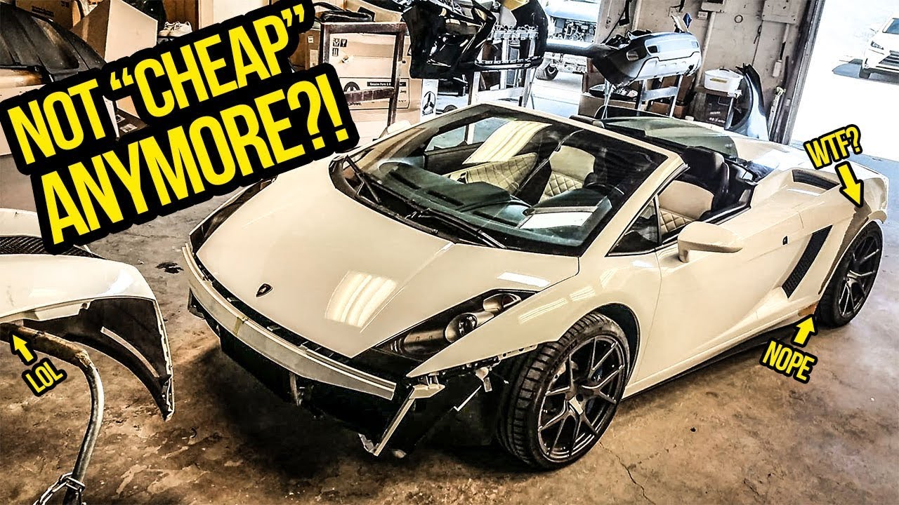 Here S How Much It Costs To Fix My Cheap Lamborghini S Horrible