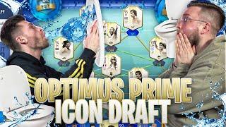 Wer muss KLO-WASSER trinken ...🤢😂 Optimus Prime ICON Fut Draft Battle !! FIFA 19