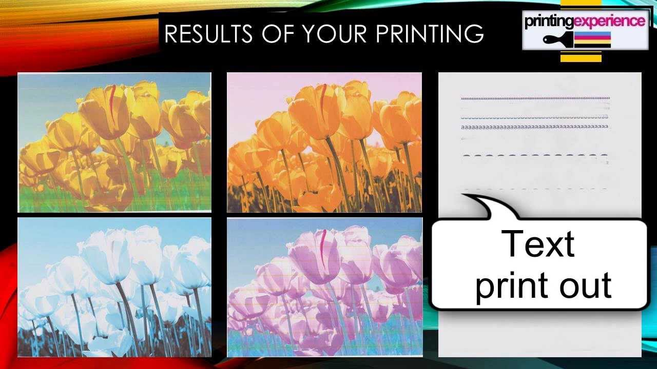 Color printing quality - Poor Quality Of Your Canon Printer Missing Colour Reinstall Reset Clean Print Head Printer Head Youtube