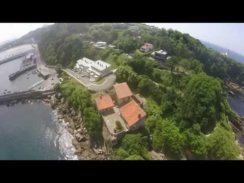hendaia hondarribi by drone