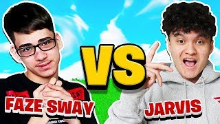 FaZe Jarvis Vs FąZe Sway (Fortnite 1v1 FACE To FACE)