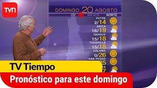 Pronóstico para este domingo 20 de agosto | TV Tiempo