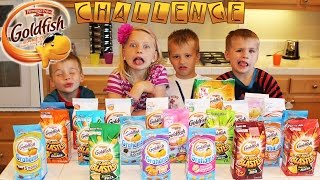 Goldfish Challenge -- Family Fun Pack Style