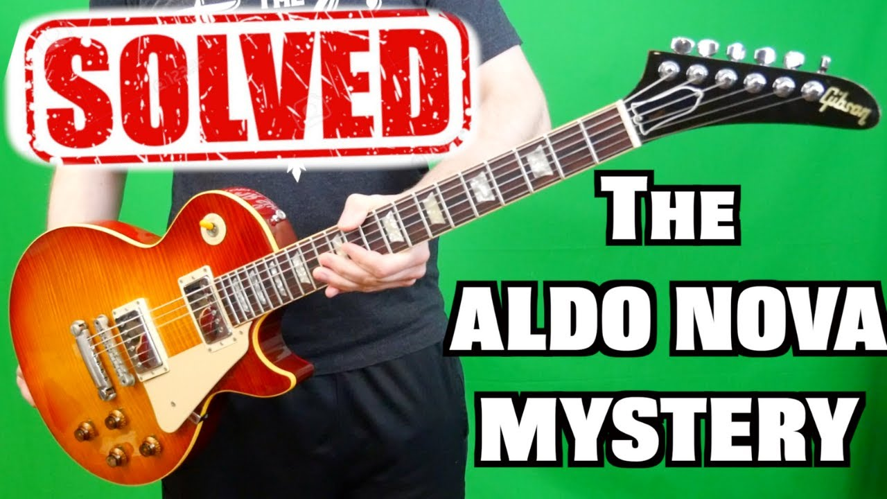 I Have the TRUTH! | 1984 Gibson Aldo Nova Les Paul with Explorer Headstock Reissue XPL | History