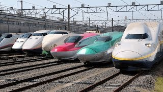 best types shinkansen trains