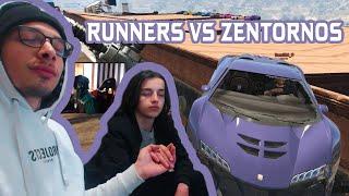 Runners VS Zentorno! KVAKVAA GTA V Online