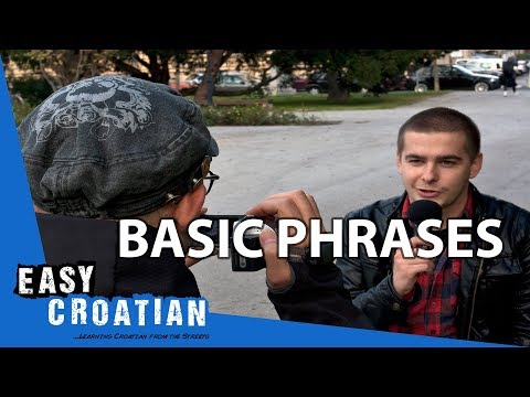 Easy Croatian 1 - Basic Phrases