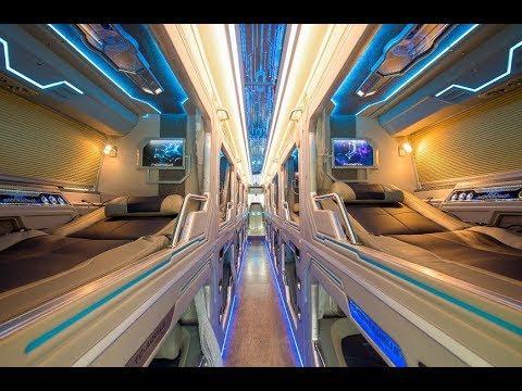 Chuyên cơ mặt đất siêu VIP 22 giường  – Xe khách 22 giường nằm VIP Liên hệ 0938904865