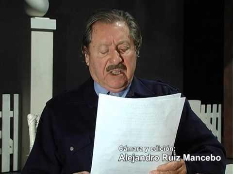 """""""Soy yo..."""" Juan Manuel Tenuta, del libro """"Por éste rumbo"""" de Daniel Daher."""