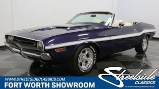 1971 Dodge Challenger Convertible for sale | 3742 DFW