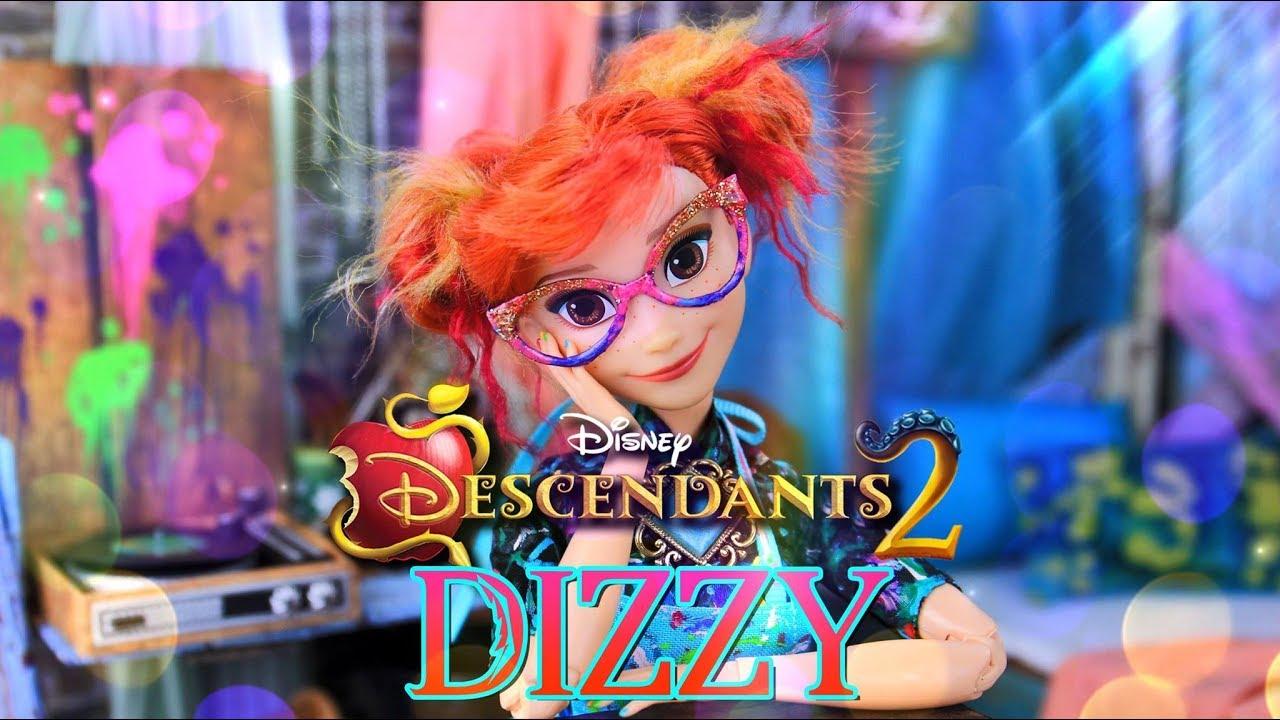 Diy Custom Doll Made To Move Disney Descendants 2 Dizzy