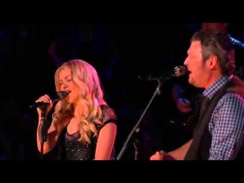 "Blake Shelton & Shakira singing-""Need You Now"""