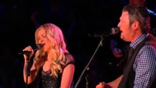 """Blake Shelton & Shakira singing-""""Need You Now"""""""