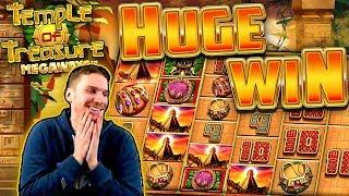 HUGE WIN on Temple of Treasure Megaways Slot - £4 Bet
