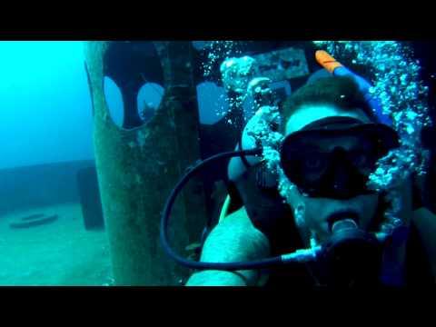 Scuba Diving Go Pro Hero3 Koh Tao Thailand Shark vids