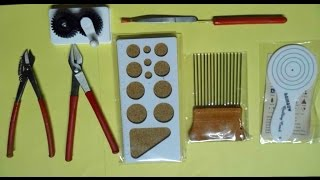 Paper Quilling Essential Tools and use
