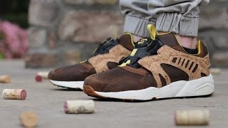 "Puma Disc Cage Leather Lux ""cork Dachshund"""