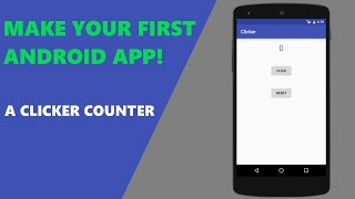 Android Studio Android Programming Tutorial for Beginners simple Clicker application