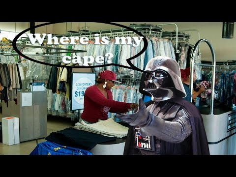 Where is my Dry Cleaning?| Star Wars the Force Unleashed