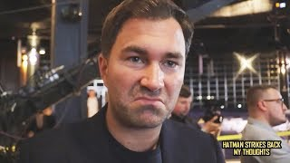 """DEONTAY WILDER SHOULD GET LESS THAN $15 MILLION FOR ANTHONY JOSHUA FIGHT""!!! ~EDDIE HEARN"