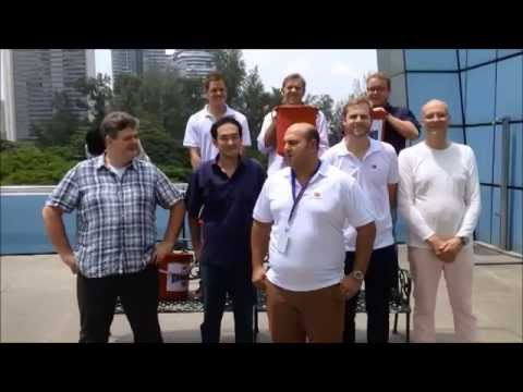 AAL Singapore and Columbia Shipmanagement Singapore ALS Ice Bucket Challenge