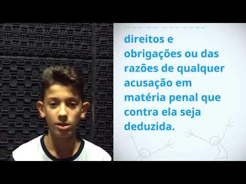 UDHR Video Article 10 Portuguese Bernardo Serapicos Cassitas