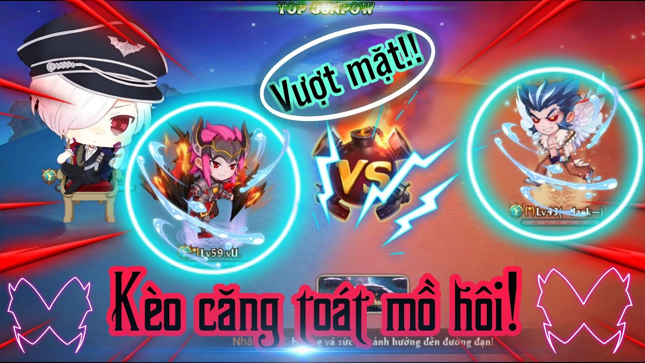 [Top Gunpow] Kèo căng giữa Vũ idol vs Jack idol cân cực toát mồ hôi! #2