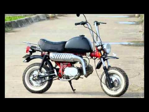 Video Modifikasi Motor Honda Win Dimodif Menjadi Motor Monkey Mini